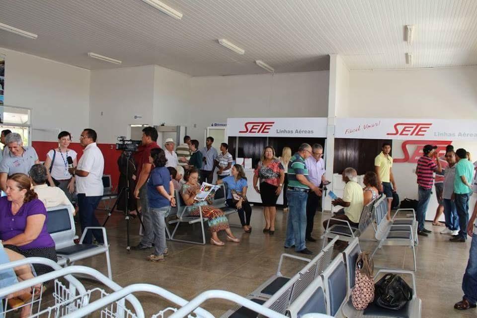 Aeroporto de Carolina volta a operar voos regulares