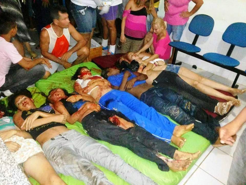 Estudantes vítimas da tragédia em Bacuri