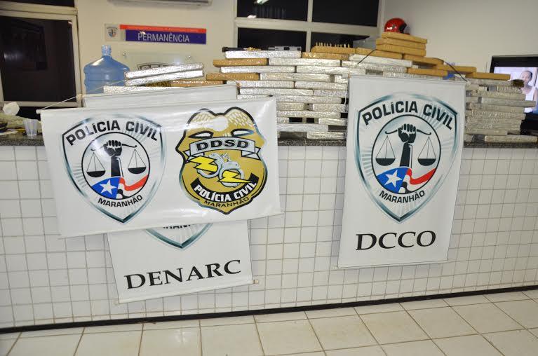Foto1_Divulgação - Drogras apreendidas em poder de suspeitos (1)