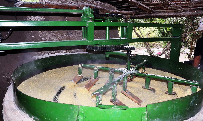 Equipamento para fabricação de farinha