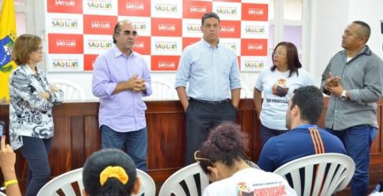 Moacir Feitosa conversou com professores