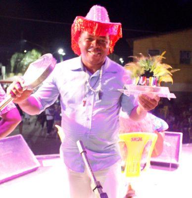 Zequinha de Couxinho, vencedor do Festiva de Toadas de Santa Inês