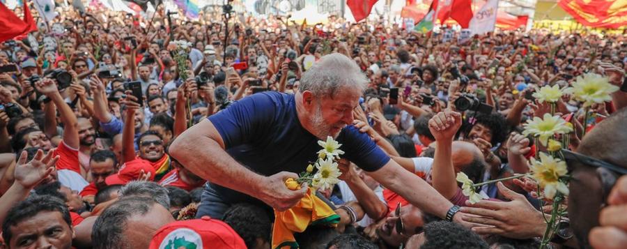 Lula planeja viajar pelo Brasil para reorganizar oposição ao governo, após  ser solto – Jorge Vieira